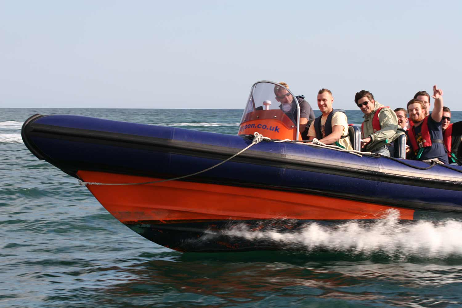 hen-party-weekend-brighton-activity-high-speed-boat-ride